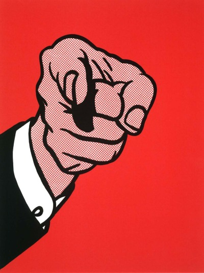 julienfoulatier:  Painting by Roy Lichtenstein.