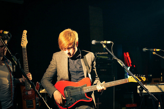 allmylovingtoyou:  Two Door Cinema Club at Crowbar by .melanie on Flickr.