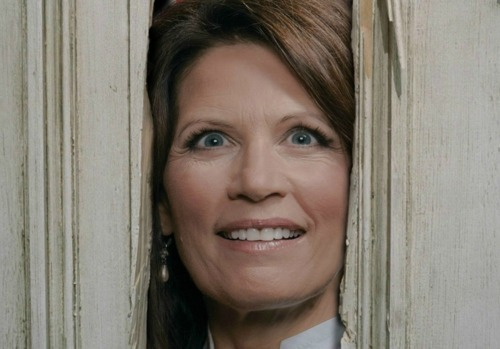 "stfubachmann:   Here are some famous quotes from Michele Bachmann:  1. ""I find it interesting that it was back in the 1970s that the swine flu broke out under another… Democrat president, Jimmy Carter. I'm not blaming this on President Obama, I just think it's an interesting coincidence."" –  Bachmann, on the 1976 Swine Flu outbreak that happened when Gerald Ford, a Republican, was president. April 2009 2. ""There are hundreds and hundreds of scientists, many of them holding Nobel Prizes, who believe in intelligent design."" October, 2006 3. ""Carbon dioxide is portrayed as harmful. But there isn't even one study that can be produced that shows that carbon dioxide is a harmful gas."" April, 2009 4. ""If we took away the minimum wage – if conceivably it was gone – we could potentially virtually wipe out unemployment completely because we would be able to offer jobs at whatever level."" January, 2005 5. ""This is not funny. It's a very sad life. It's part of Satan, I think, to say that this is gay."" Bachmann on homosexuality. May. 2004 6. ""Does that mean that someone's 13-year-old daughter could walk into a sex clinic, have a pregnancy test done, be taken away to the local Planned Parenthood abortion clinic, have their abortion, be back and go home on the school bus? That night, mom and dad are never the wiser."" – Bachmann on health care reform's potential to dupe parents, October 2009.  I realize we've already posted some of these before, but still, never forget she is this dumb, please.  The fact that no one in government or media ever seems to call her on the insane and completely inaccurate things she says simply enrages me."