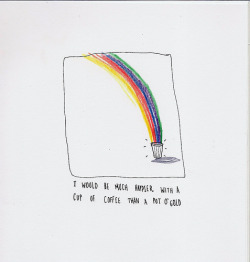 hammermymindout:  heartwish:  Coffee rainbow (by Toby Rampton)   got both