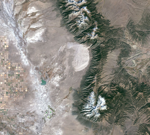 The Great Sand Dunes from Space (via Wired)