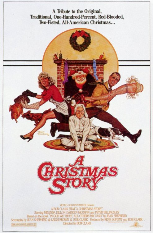 haveahollyjollychristmas:  My Top Ten Favorite Christmas Movies:   #1 A Christmas Story  One of my favorite movies ever. <3