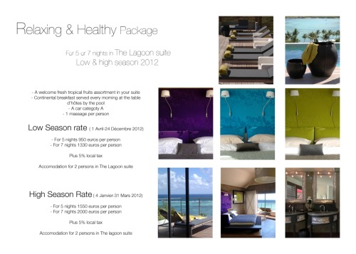 Relax Package - Lagoon Suite-