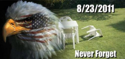 The East Coast quake of 2011. Never forget the destruction.