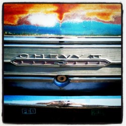 Rusty #chevy 2 SS #chromeography #Chevrolet #typography (Taken with instagram)
