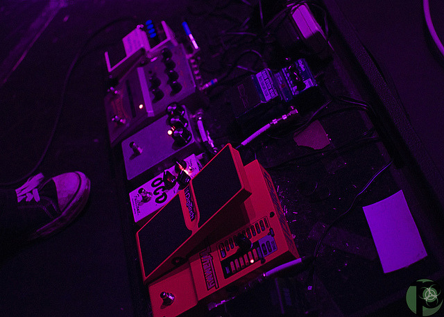 Mike's Pedal Board on Flickr.Via Flickr: Mike's bass pedal board