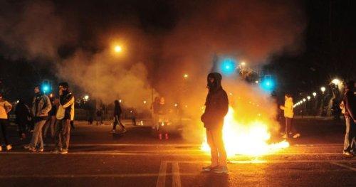 Chile Students Protest- Santiago