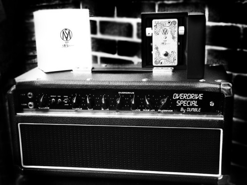 scottmckeon:  SM Fuzz and a Dumble Overdrive Special. A match made in heaven.  LERELERE!!!!!!