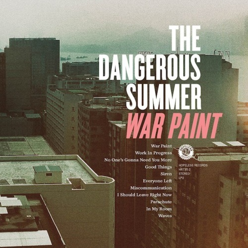 The Dangerous Summer - In My Room