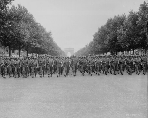 todaysdocument:  August 25 - Liberation of Paris After an uprising by the French Resistance and days of street fighting, Paris was liberated by Allied forces from the Germans on August 25, 1944.