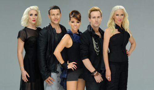It's Steps 2011! They look so… serious..