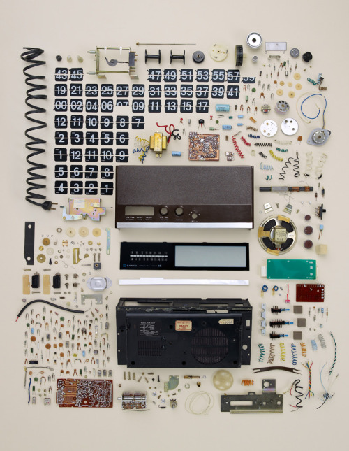 Disassembly by Todd McLellan | Exhibition at the Virtual Gallery 20x200 in New York City | 2011       Via 20x200.com