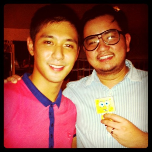 JJ Henson, si @nacinorocco oh. (Taken with instagram)