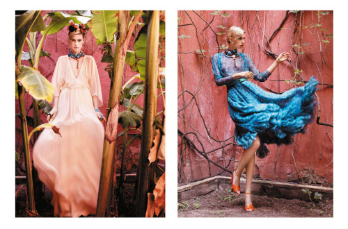 L'Officiel Ukraine - July/August 2011  Model: Jade Jackson Ph: Marcin Tyszka