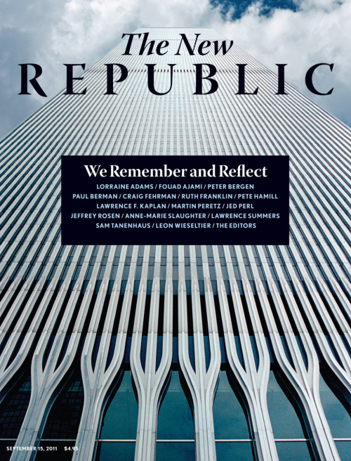 As we near the tenth anniversary of the 9/11 terrorist attacks, The New Republic is looking back on the day that changed the direction of the country forever, including our initial coverage of that day and our immediate reactions.