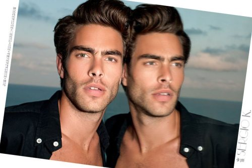Jon Kortajarena by Terry Richardson for Sergio K Spring 2012 source: TheFashionisto