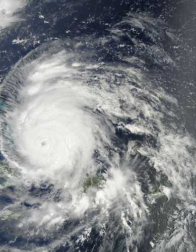 Hurricane Irene Captured August 24, 2011 (by NASA Goddard Photo and Video)
