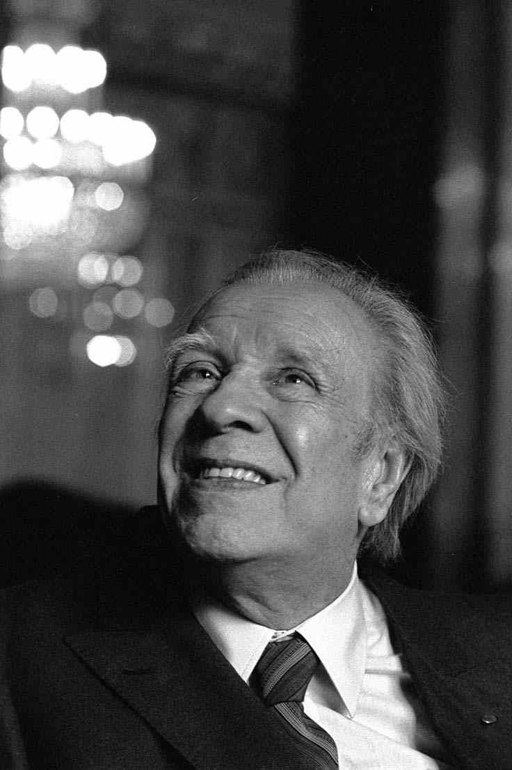 "downlo:  Jorge Luis Borges (August 24, 1899 – June 14, 1986)  I've dedicated my life to reading. My father showed me his library, which seemed to me infinite, and he told me to read whatever I wanted, but that if something bored me I should put it down immediately—that is, the opposite of obligatory reading. Reading has to be a happiness, and philosophy gives us happiness, and that is the contemplation of a problem. The world continues to be more enigmatic, more enchanting. For me reading and writing are two equally pleasurable activities. When writers talk about the torture of writing, I don't understand it. For me writing is a necessity. When I was young, I thought about what I considered the heroic life of my military elders, a life that had been rich, and mine—the life of a reader—seemed to me a poor life. Now I don't believe that. The life of a reader can be as rich as any other life. Suppose Alonso Quijano had never left his library, or bookstore, as Cervantes called it, I believe that his life reading would have been as rich as when he conceived the project of turning himself into Quixote. (Harper's/April 2008)  Feliz cumpleanos, from one whose memory is also ""full of verses and full of books""."