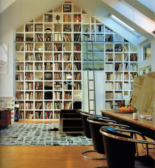 yeahwriters:  I love squares.  Oh Jessie look. Normal books to the left, Julia's reference books to the right.
