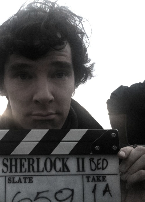 ununpentium:palmsandpaper:   Sherlock to bed, Part 2  casually reblogging all versions of this