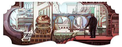 112th birthday of Jorge Luis Borges courtesy of google.