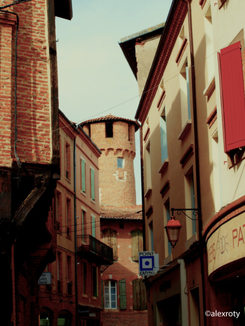 """Behind the Tower"" Albi, France. 18.08.11"