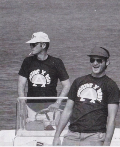 awesomepeoplehangingouttogether:  Hunter S. Thompson and Bill Murray