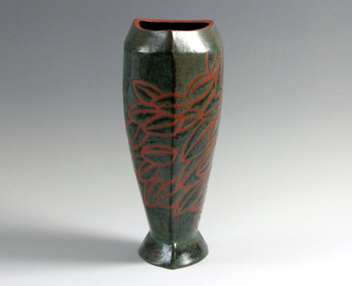 Barbara Fehrs: Vessel with Leaves