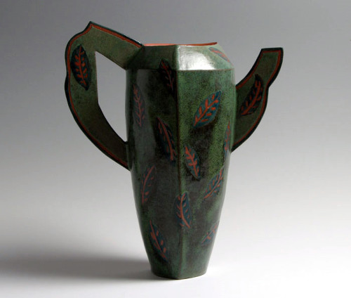 Barbara Fehrs: Faux Pitcher with Leaves