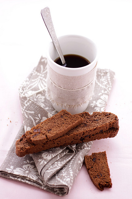 double chocolate and crystalized ginger biscotti by cannelle-vanille on Flickr.double chocolate and crystalized ginger biscotti…