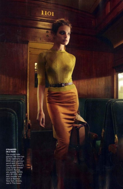 "cal-lio-pe:  Natalia Vodianova ""Brief Encounter"" VOGUE US Feb'10"