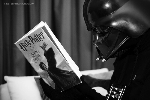 What is the favorite book of Darth vader?