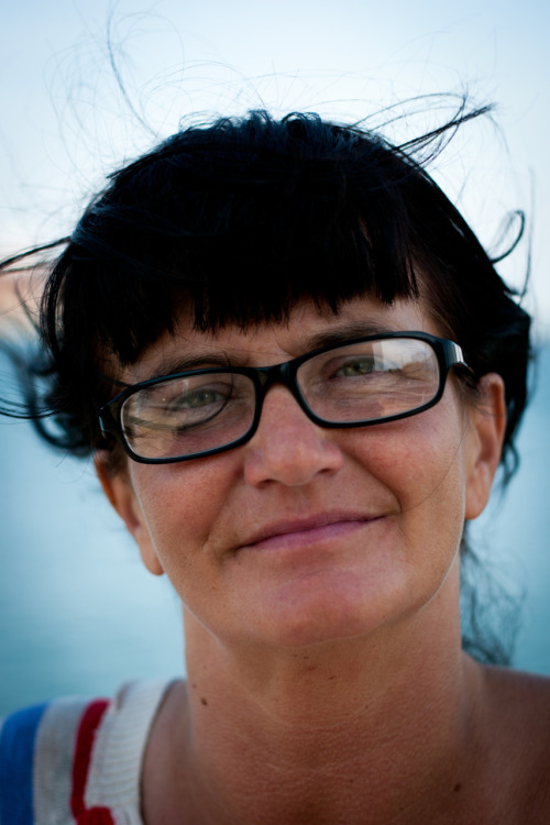 Lotten, a writer from Malmö, Sweden. Lotten used to be homeless. Now she has a house of her own.