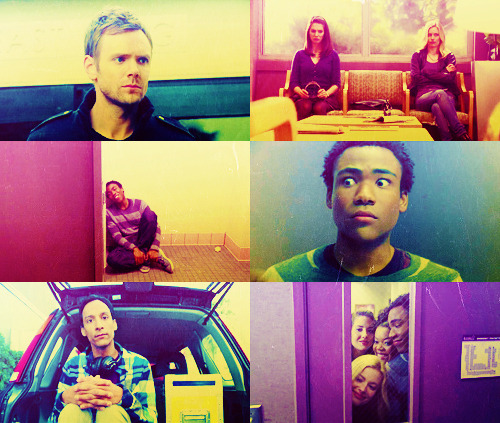 Six Favorite Screencaps:  Community - 2x16 Intermediate Documentary Filmmaking