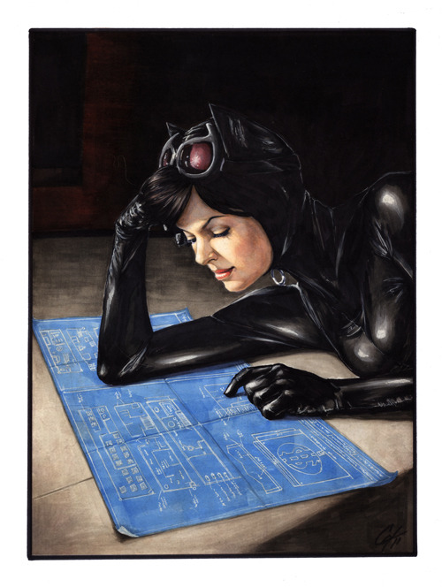 dcwomenkickingass:  xombiedirge:  Weekend Plans by Cat Staggs / Website  I love this. Covers, Cat Staggs, DC, now please.