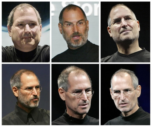 Reuters ran this photoset of Steve Jobs mugshots that really shows the stark decline in Jobs' health over the years. Good luck, chairman of the board.