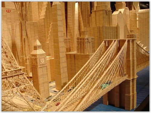 toothpick creation