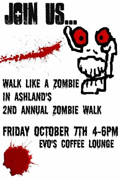 Zombie walk poster sans movie info