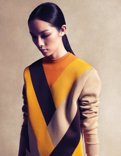 "Sun Feifei • Vogue China, ""A Journey to the Modern Classics"", September 2011"