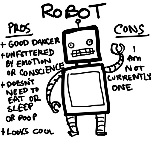 Why am I not a robot?!?!