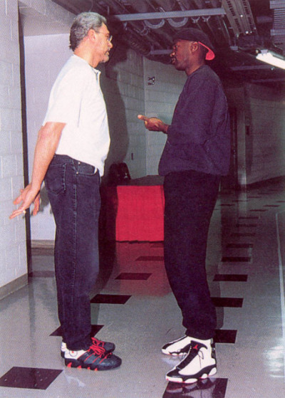 noephotos:  Pollying with Phil, Air Jordan'd up.