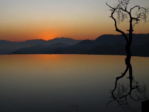 "coffeenuts:  ""Infinity Pool"" ""Hierve El Agua"" Before Sunrise, Oaxaca, Mexico by Marie-Marthe Gagnon on Flickr."