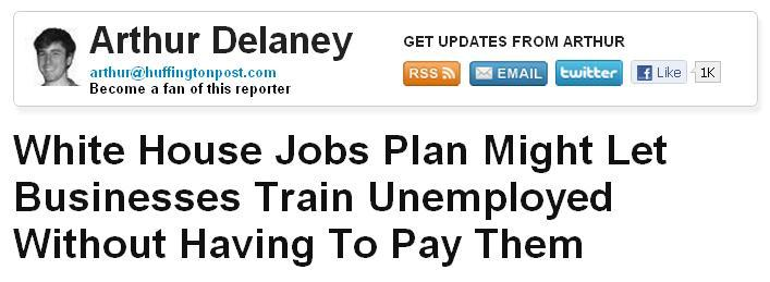 "dceiver:  In other news, the Obama administration has ""pivoted"" to ""not jobs.""  So, what's the point in even having a ""jobs plan"" when you aren't even offering any paying jobs? Please tell me who teaches these people who run our country how to act stupid!! I'd like to meet this person…ahem, the party. -Drew, Concerned American"