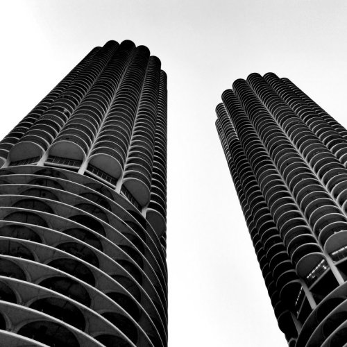 black-and-white:  towers | by jerryshirts
