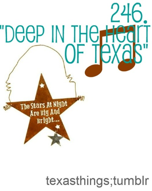"""Deep In The Heart Of Texas"" - The stars at night are big and bright…  Submitted by Colleen"
