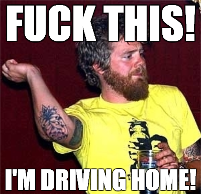 "Hi, I'm Ryan Dunn and this is ""Drinking and Driving."""
