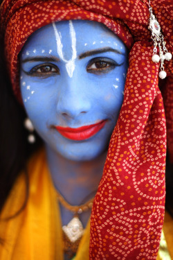 boston:  THE BIG PICTURE: Krishna Janmashtami - Indian Hindu devotees throughout the world celebrate Janmashtami, which marks the birth of Hindu God Lord Krishna with enormous zeal and enthusiasm.