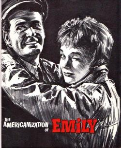 "mavrock1:  James Garner and Julie Andrews in ""THE AMERICANIZATION OF EMILY"" This is the original program ffom the film's premiere"