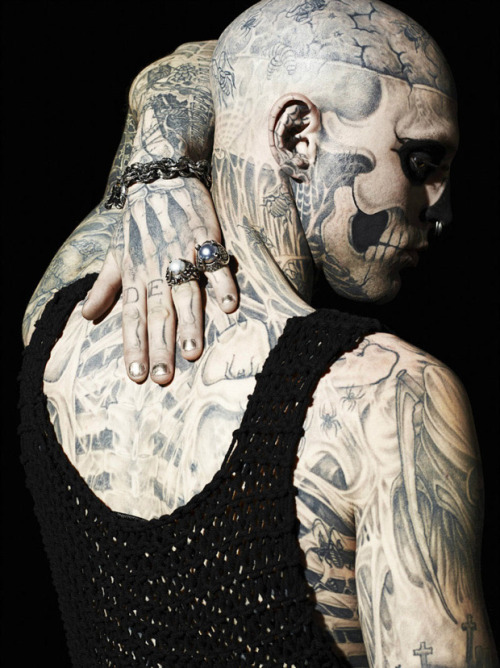 fuck-me-tenderly:  Rick Genest is the fuckingest awesomest motherfucker in the world