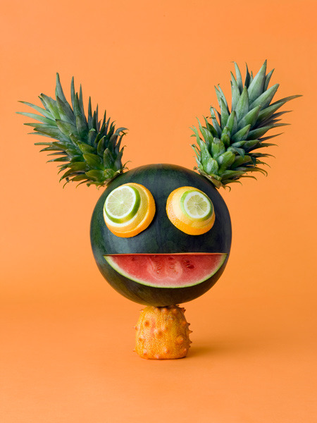 inspirationcrate:  Animals made of vegetables by Carl Kleiner